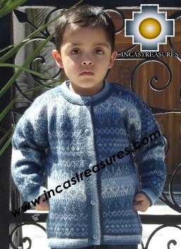 Children Alpaca Sweater